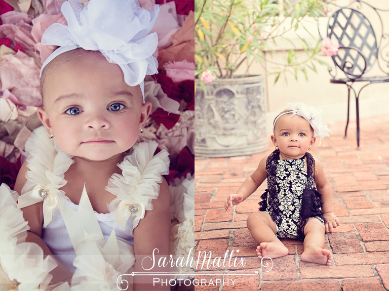 Addyson rose 9 month session new orleans baby photographer