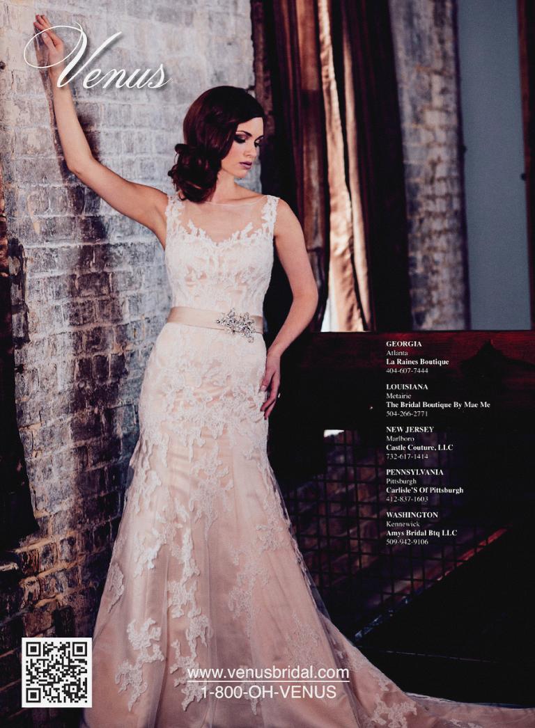 Brides Magazine February March Issue Sarah Mattix