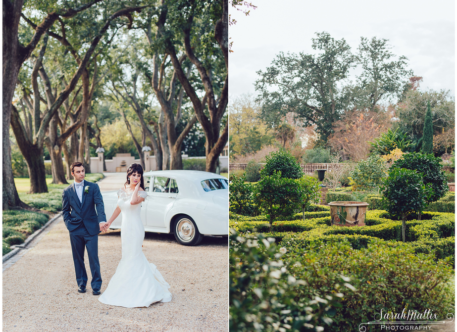 Wedding Photography In New Orleans: Longue Vue House And Gardens